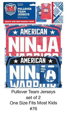 American Ninja Warrior Pullover Team Jerseys