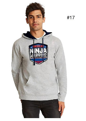 American Ninja Warrior Men's Hoodie (Gray)
