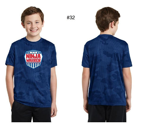 American Ninja Warrior Kids T-Shirt (Blue)