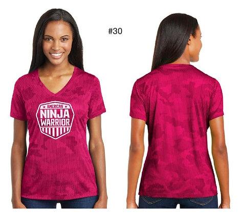 American Ninja Warrior Women's T-Shirt  (Pink)