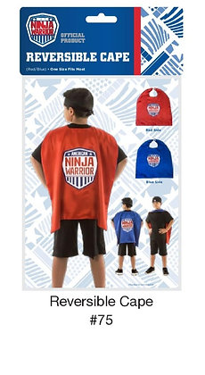 American Ninja Warrior Reversable Cape