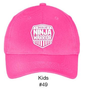 Kids Bend Stile Hat Pink