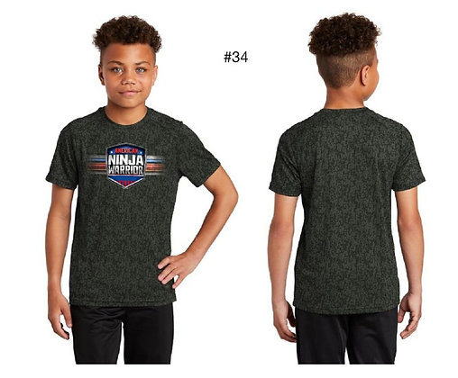 American Ninja Warrior Kids T-Shirt (Green)
