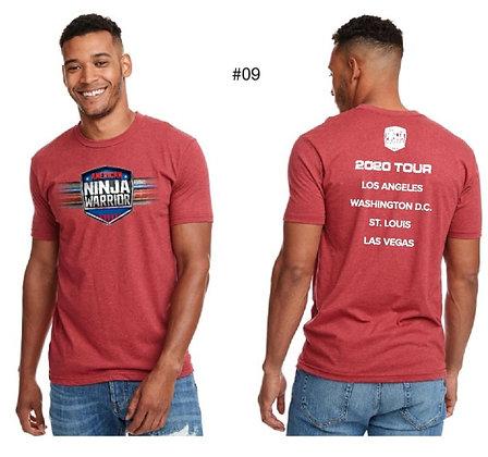 American Ninja Warrior Men's T-Shirt (Red)