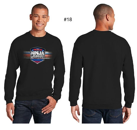 American Ninja Warrior Men's T-Shirt Long Sleeves (Black)