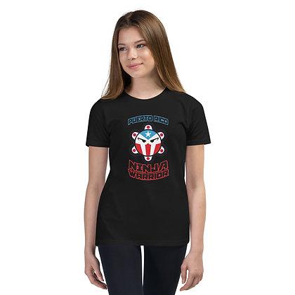 PR NINJA WARRIOR Youth Short Sleeve T-Shirt