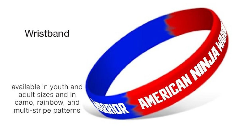 American Ninja Warrior Wristband