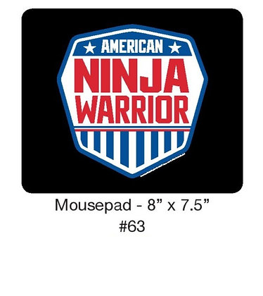"American Ninja Warrior Mousepad - 8"" x 7.5"""