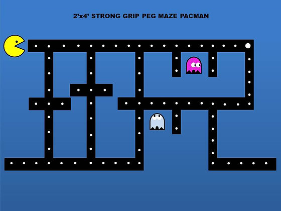 2x4 PEG MAZE VIDEO GAMES