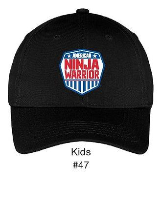 kids Bend Stile Hat Black