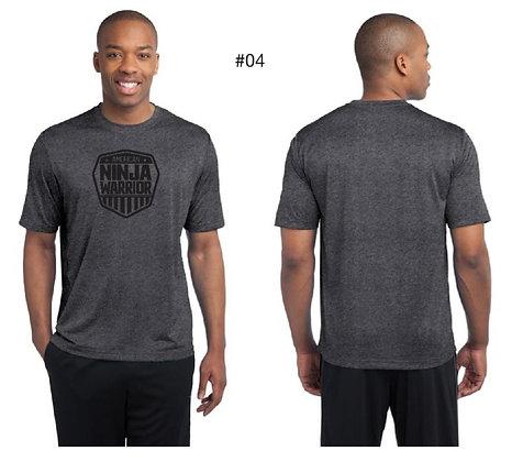 American Ninja Warrior Men's T-Shirt (Gray)