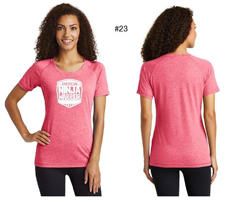 American Ninja Warrior Women's T-Shirt  (Pink)