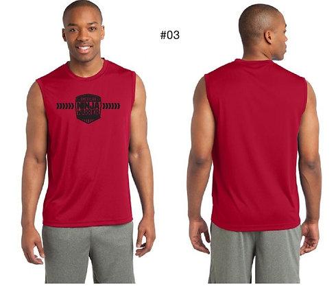 American Ninja Warrior Men's T-Shirt No Sleeves (Red)