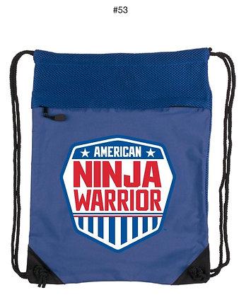 American Ninja Warrior Strings Bag pack Blue