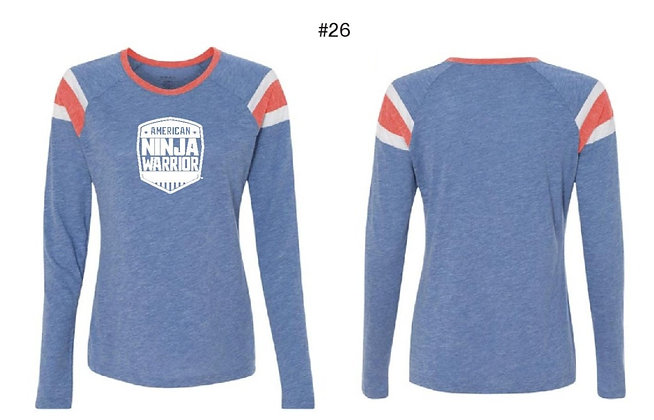 American Ninja Warrior Women's T-Shirt  (Blue)