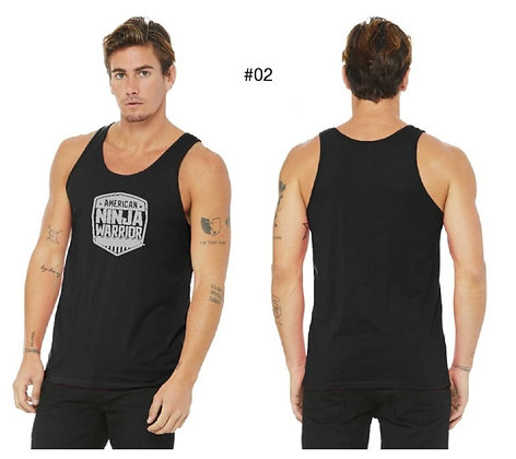 American Ninja Warrior Men's Tank Top (Black)