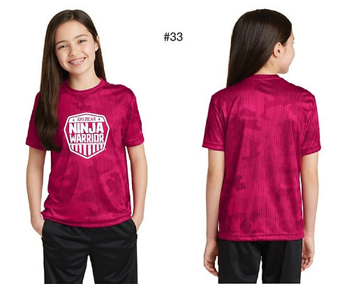 American Ninja Warrior Kids T-Shirt (Pink)