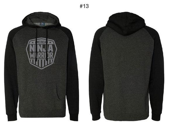 American Ninja Warrior Men's Hoodie (Gray and Black)