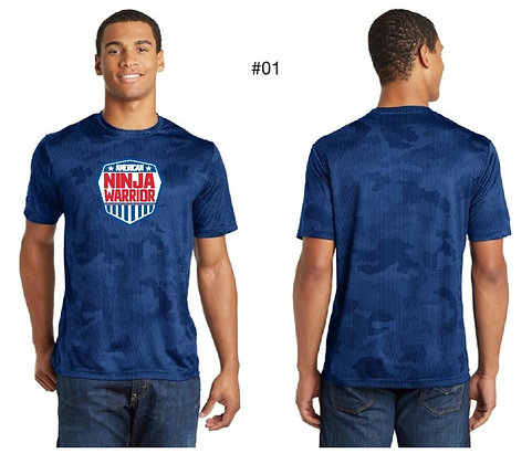 American Ninja Warrior Men's T-Shirt (Blue)