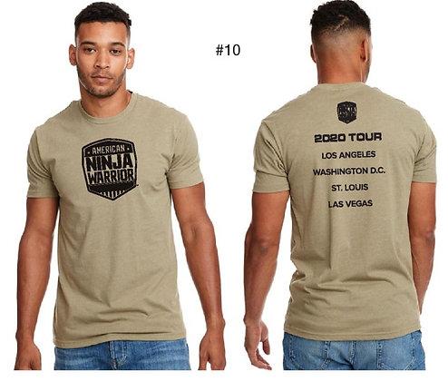 American Ninja Warrior Men's T-Shirt (Cream)
