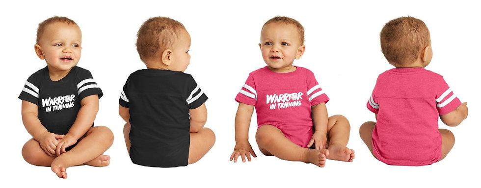 Warrior in Training Infant 6 months- 24 months Black