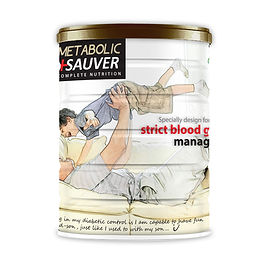 Metabolic Sauver: For Blood Glucose Management. LOW  Glycemic Index level (GI=26.84),  for a better blood glucose control.