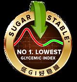 no.1 lowest glycemic index