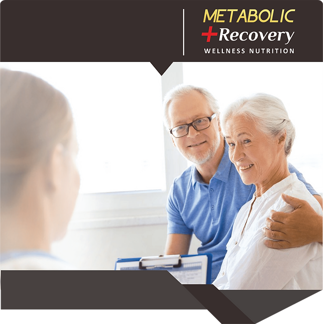 benefits of metabolic recovery: provide patient with wellbeing & quality rest for faster recovery