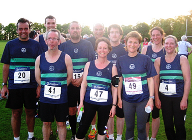 Tadcaster PB runners 2014
