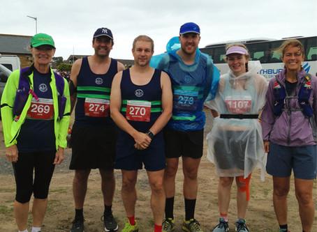 Bedraggled ERC members run Northumberland Coastal