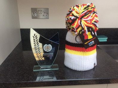 Marie's Trophy and Hat XC 2018