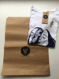 Spectrum Tee and Bag