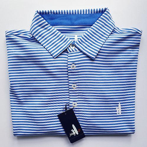 Johnnie O - Dunvegan Golf shirt, Marlin / Royal
