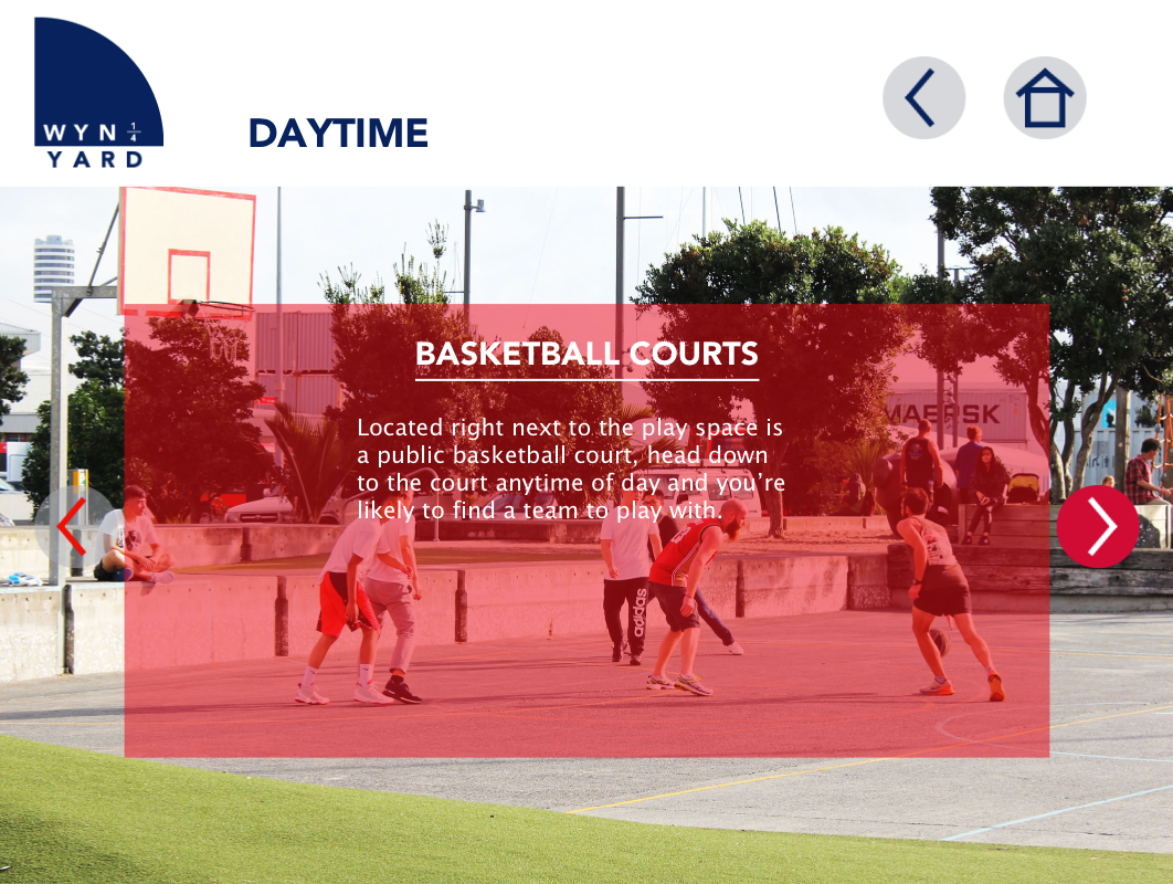 Daytime Activities Page