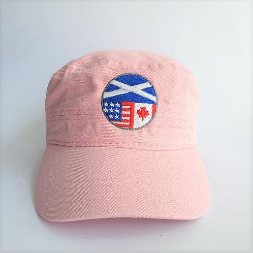 Pink Dunvegan Cap
