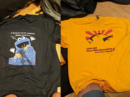 Fly-in Tee Shirts Still Available (Free!)