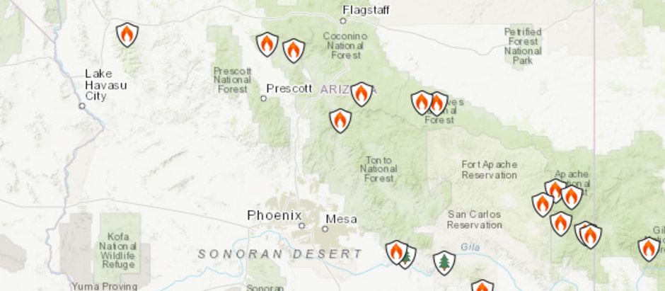 AZHPA FLYING SITE CLOSURES (7.9.21 update)