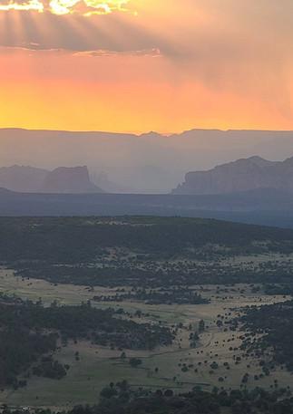 Apache Maid Sunset