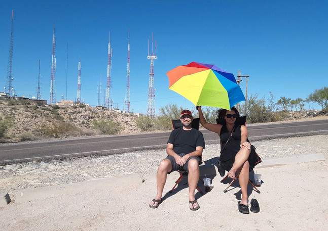 South Mountain - Tourists