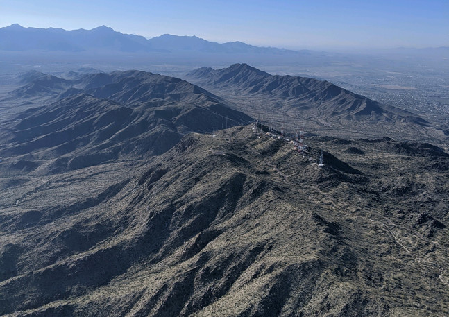 South Mountain Topography