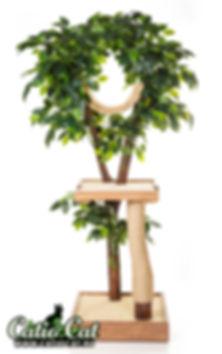 когтеточка дерево купить, домик-для-кошки-с-деревом-3.jpg