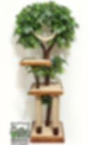 дерево для кошки, дерево +для кошки +в квартире, когтеточка домик дерево, игровой комплекс для кошек купить,