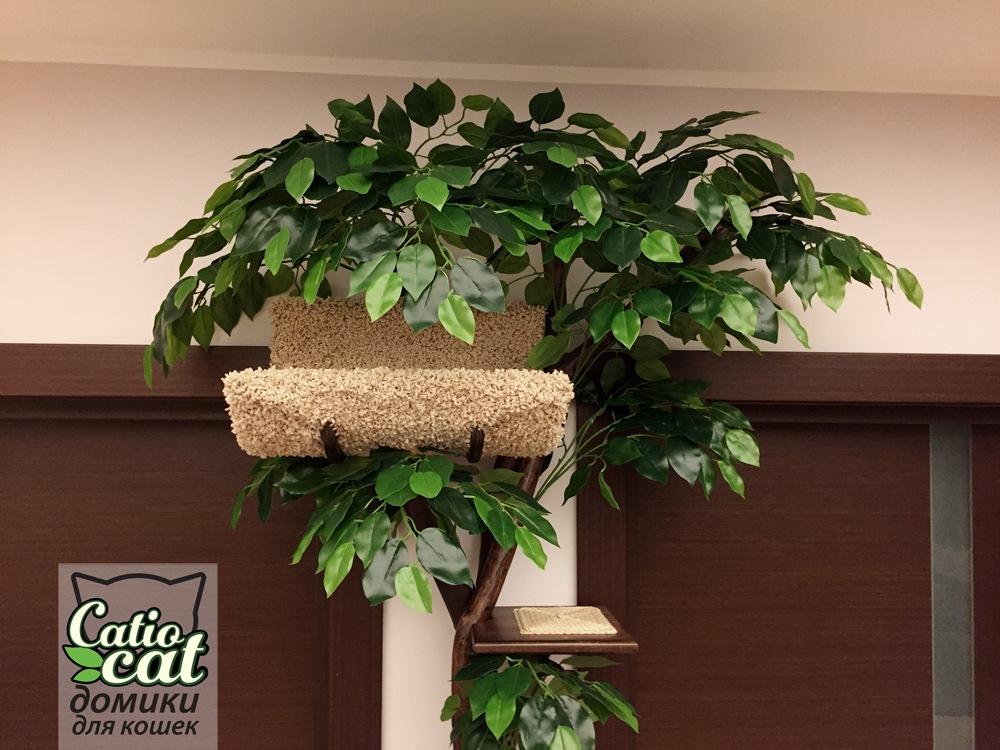 Дерево для кота с искусственной листвой Catio 4