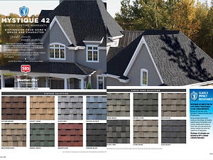 BP Mystique 42 shingle colors