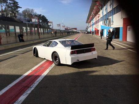 ALEX GETS BACK BEHIND THE WHEEL AT ZOLDER