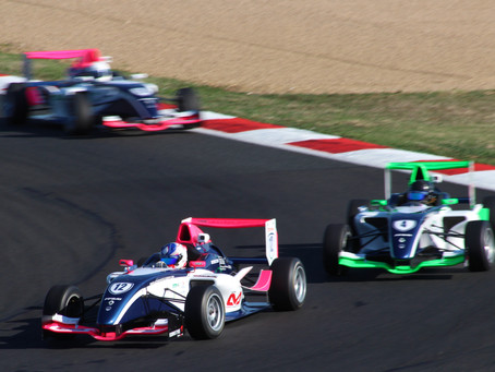 TOP FIVE FINISH IN FIRST FRENCH F4 RACE