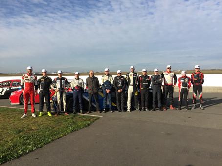 ALEX COMPLETES FIRST NASCAR TEST IN FRANCE