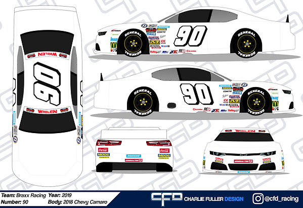 2019 NWES Chevrolet Camaro - Template.pn