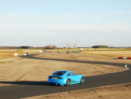 ALEX COMPLETES FIRST TEST WITH JHR DEVELOPMENTS
