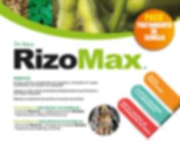 RizoMax tratamiento de semillas en soya